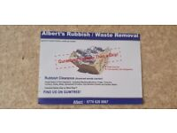 ALBERT'S RUBBISH CLEARANCE & FREE SCRAP METAL COLLECTION SERVICES SOUTHAMPTON & SURROUNDING