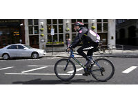 Join our Busy Push Bike Courier Circuit in Central London - Immediate Start