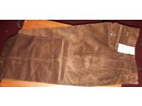 """** New With Tag Mens M&S Cords Size 32"""" Waist - Leg 35"""" **"""