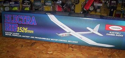 Neu Svenson Electra RTF Flugmodell Elektro Gleiter Holzbau satz 1526mm Spannweit