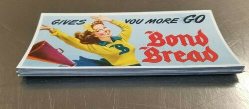 Vintage lot of twelve  Bond Bread Ink Blotters- Cheerleader