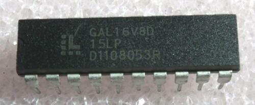 GAL16V8D-15LP DIP-20 : 2pcs per lot