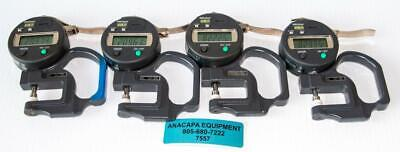 Mitutoyo Absolute 547-500 Digimatic Thickness Gage Lot Of 4 Used 7557 W