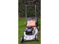 Flymo petrol lawn mower 4 stroke