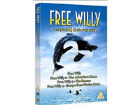 Free Willy 1-4 dvds + Highschool musical 1-3 dvds