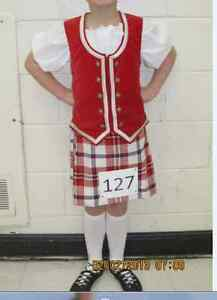 Highland Dance Outfit - size 7-8