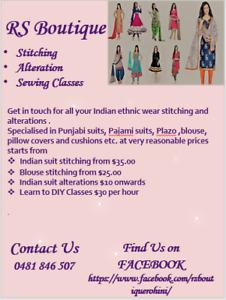 indian stitching | Dress Making & Alterations | Gumtree Australia