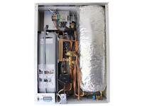 Electric Combi Boiler 12kW Central Heating & Hot Water with inbuilt Cylinder (MODEL EK.BP)