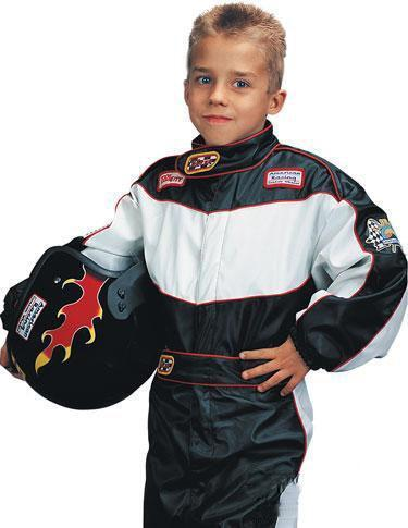 kids race car driver costume