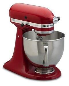 kitchenaid artisan stand mixer how to clean