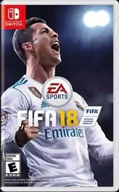 Fifa 18 Nintendo Switch - new/sealed