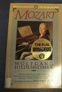 Book about Wolfgang Amadeus Mozart