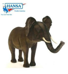 Hansa Elephant Ride On Stuff Animal Real life