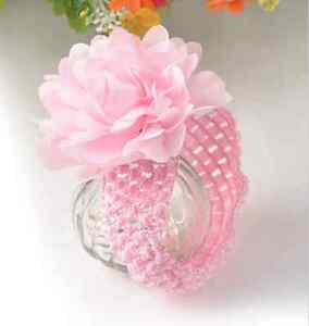 Baby flower headband, NEW, pink,mint, purple, baby blue Edmonton Edmonton Area image 1