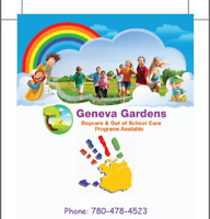 Childcare Spaces available at Geneva Gardens Daycare & OSC