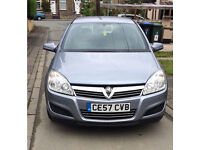 2007 Vauxhall astra low 76k genuine mileage. Full leather interior. Px welcome