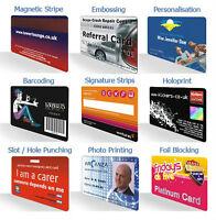 Plastic Cards, Plastic Card Printing, Gift reward card printing