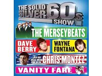 4 tickets for 60s show grand theatre wolverhampton 30th april