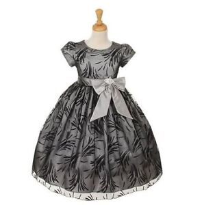 NEW Dress for Flower Girls   Special Occasion Holiday Dress