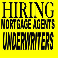 looking for Mortgage Agent/Underwriter  CALL: 416-992-5104