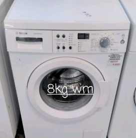 Bosch 8kg washing machine free delivery in Leicester