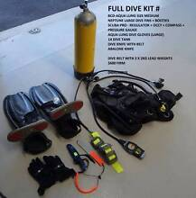 COMPLETE SCUBA DIVING KIT Bicton Melville Area Preview