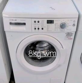 Bosch 8kg washing machine free delivery in derby