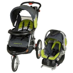 Babytrend Stroller + Car seat 160$ !! w/ Free gate check bag