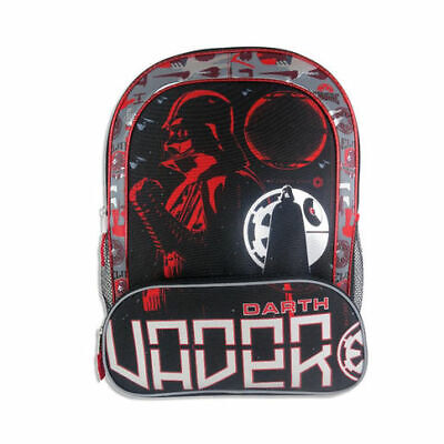 Disney Star Wars Classic Darth Vader Backpack w/ Two Side Mesh - Disney Mesh Backpack