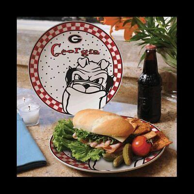 "Memory Company Georgia Bulldogs Gameday Ceramic Plate ""GO DAWGS"" ()"