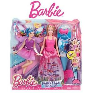 NEW MATTEL BARBIE FAIRY TALE SET FAIRYTALE GIFT SET BARBIE DOLL PLAYSET KIDS TOYS 102422789