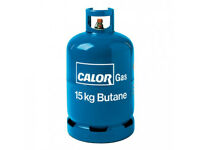EMPTY 15kg Butane Calor Gas Bottle