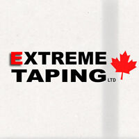 EXTREME TAPING - For all your drywall needs!