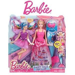 NEW MATTEL BARBIE FAIRY TALE SET FAIRYTALE GIFT SET BARBIE DOLL PLAYSET KIDS TOYS 102422789