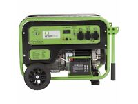 New Greengear 5kW Portable LPG Power Generator with 2 year limited guarantee