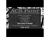 ACS Painter/Decorating Service 10%OFF!