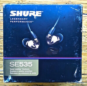 BRAND NEW IN BOX - shure SE535 IN-EAR MONITORS