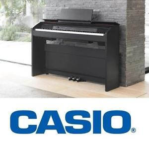 NEW CASIO 88 KEY DIGITAL PIANO PX-860BK 224856267 PX-860 KEYBOARD AND BENCH