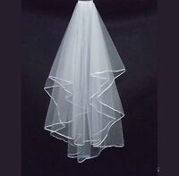 Wedding Veil Satin edge