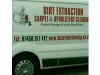 Dirt Extraction Carpet& upholstery cleaning