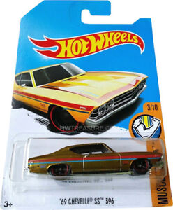 Wanted: Hot wheels 69 Chevelle SS 396 Super Treasure Hunt