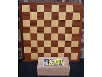 Chess Board and Chess Pieces. Board Games