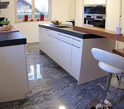 Viscont White Granit Fliesen, Bodenfliesen, Granitfliesen, Naturstein, Marmor
