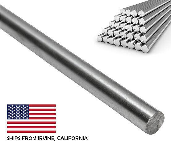 "8mm x 30"" Case Hardened Chrome Linear Motion Rods/Shafts/Guides G6 Tolerance"