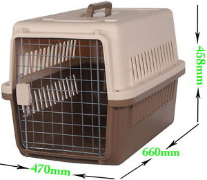 Medium Airline Approved Pet Carrier Crate Airport West Moonee Valley Preview