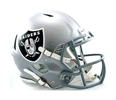 Oakland Raiders Riddell NFL Football Authentic Speed Full Size Helmet