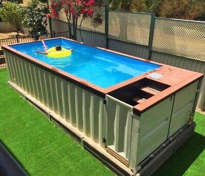 Diy Tin Can Swimming Pool
