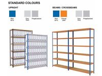 Riveto Garage / Industrial Racking Units x2 (Racktec Boltless Shelving)