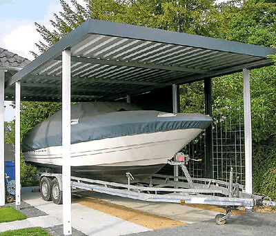 carport aus metall hhe 251 cm breite 258xtiefe 524 cm