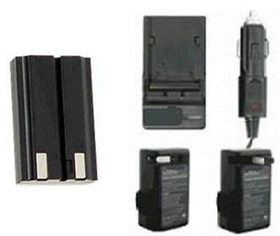 Np-800 Battery + Charger For Konica Minolta Dimage A200 D...